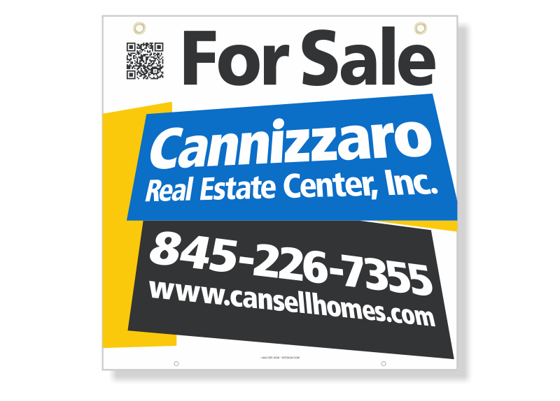 Independent Real Estate Hanging Sign Panels-24X24_SC_HP_7