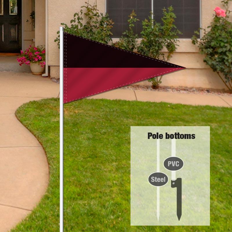 Independent Real Estate Pennant Flag-BLACKMRN_FLG_7