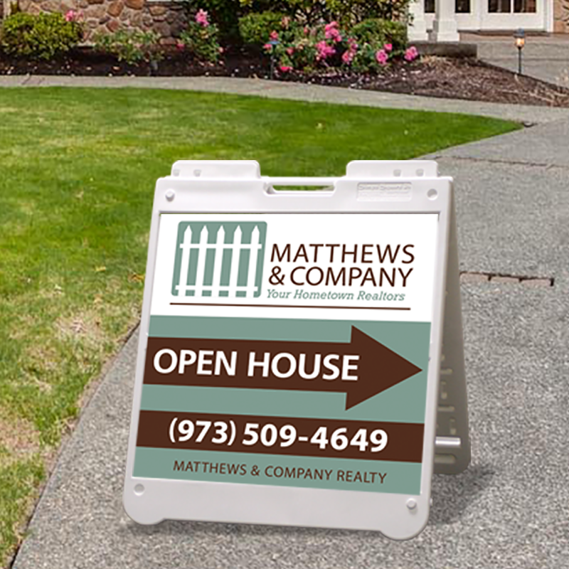 Independent Real Estate Open House & Directional Signs-BS24_7