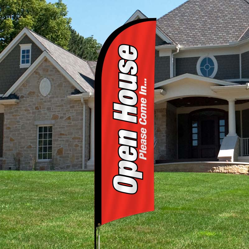 Independent Real Estate Feather Flags-I10FF_7