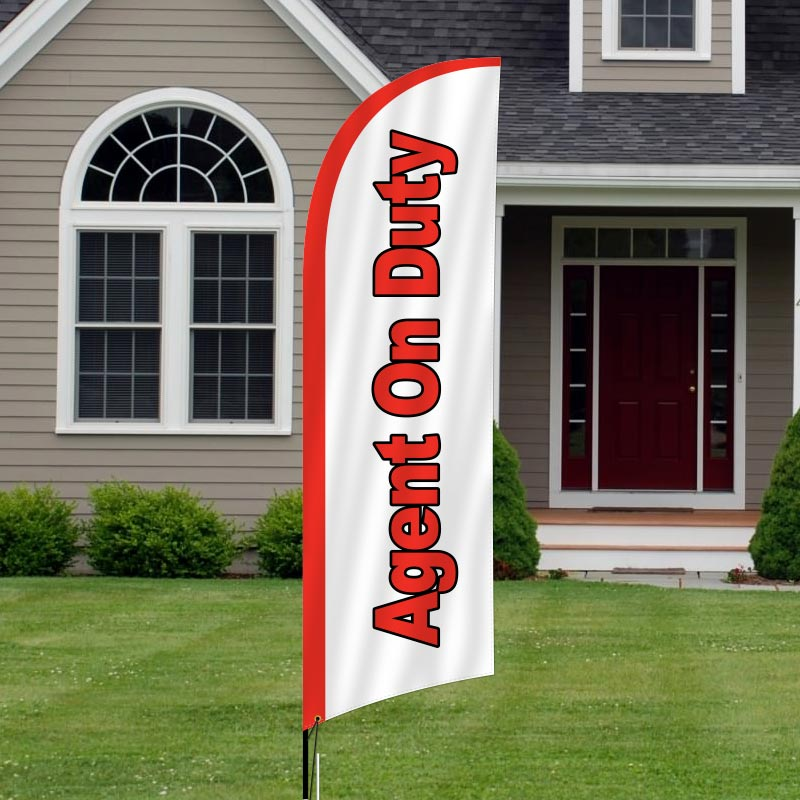 Independent Real Estate Feather Flags-I13FF_7