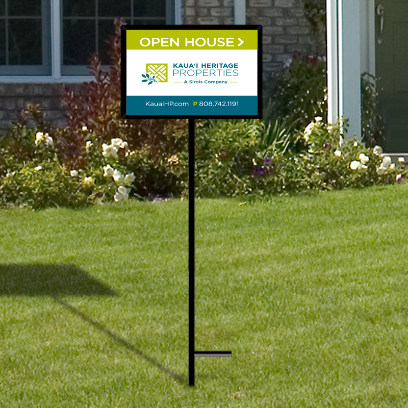 Independent Real Estate Open House & Directional Signs-IND242