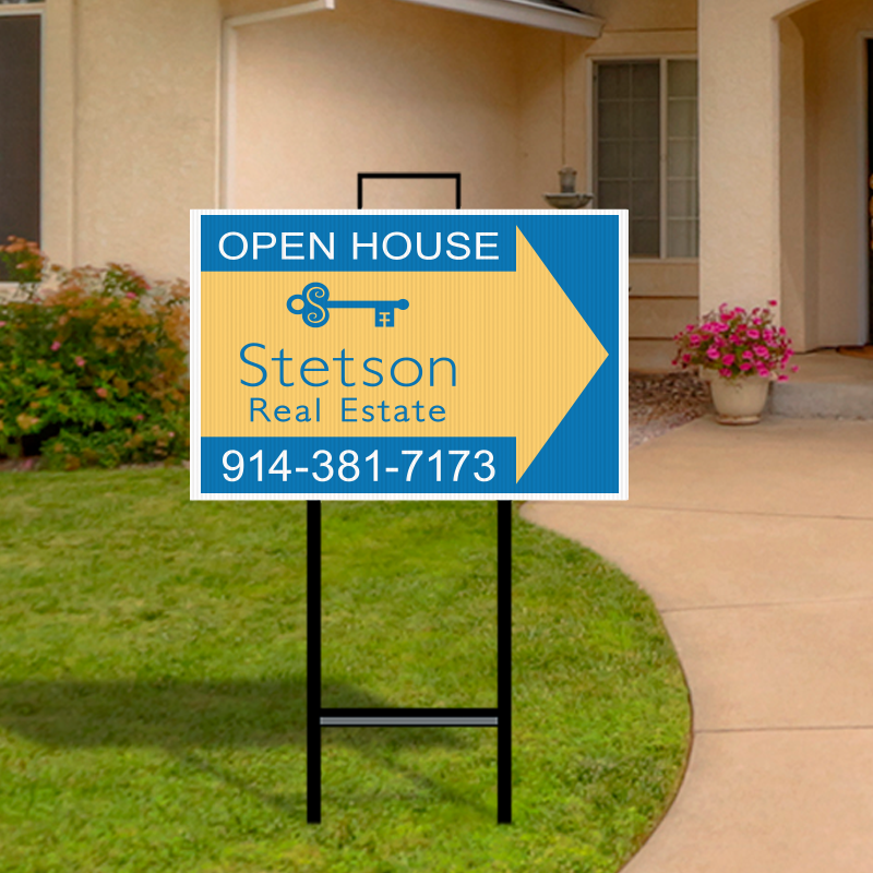 Independent Real Estate Open House & Directional Signs-IND294
