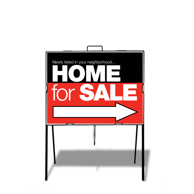 Independent Real Estate Open House & Directional Signs-IND_STK_A2182C_7