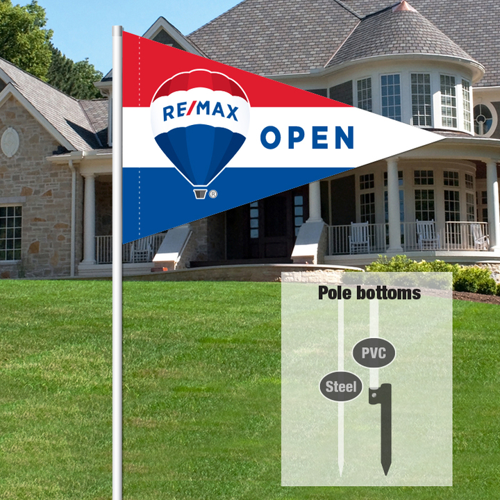 Independent Real Estate Pennant Flag-REMAX001_7