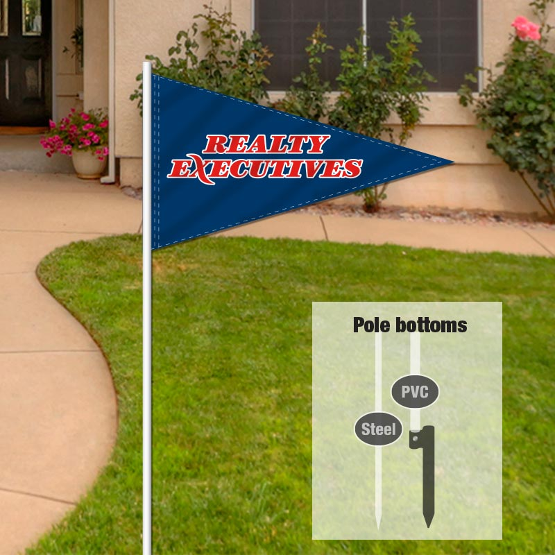 Independent Real Estate Pennant Flag-REX00001_7