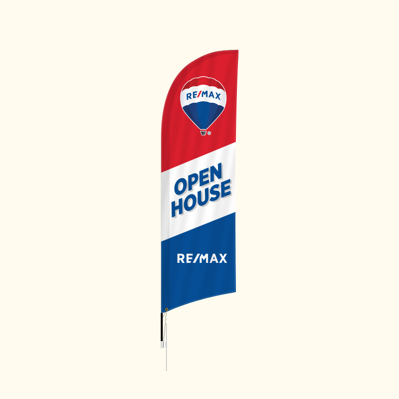 Independent Real Estate Feather Flags-RM9FF_1