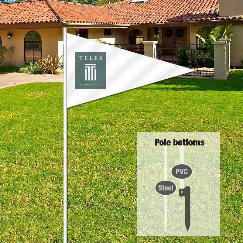 Independent Real Estate Pennant Flag-TELLES01_FLG_76