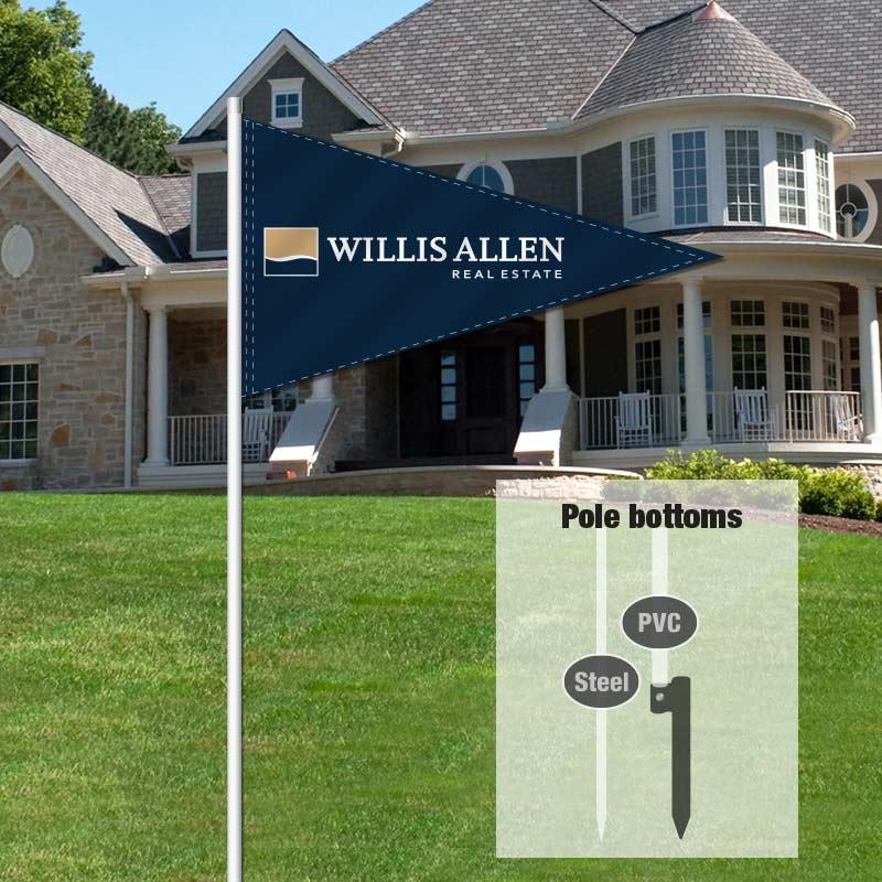 Independent Real Estate Pennant Flag-WILLALLN_FLG_7