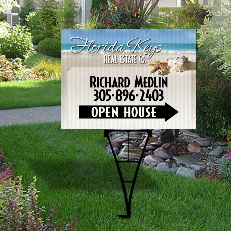 Independent Real Estate Open House & Directional Signs-Y74_18X24_IND_7